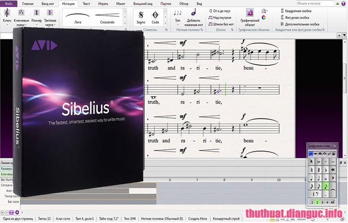 Download Avid Sibelius Ultimate 2019.5 Build 1469 Full Crack, phần mềm ghi âm nhạc, Avid Sibelius Ultimate 2019, Avid Sibelius Ultimate 2019 free download, Avid Sibelius Ultimate 2019 full key, phần mềm viết nốt nhạc