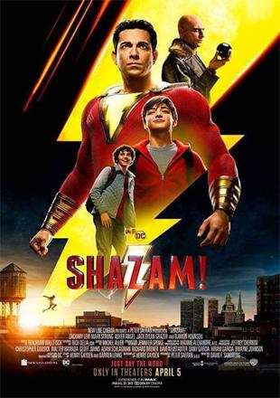 Shazam! 2019 BRRip 1080p Dual Audio In Hindi English