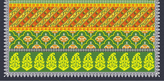 Traditional-illustration-indian-motif-textile-border-210031