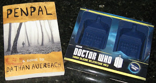Penpal by Dathan Auerbach & Dr. Who Tardis gelatin/cake molds