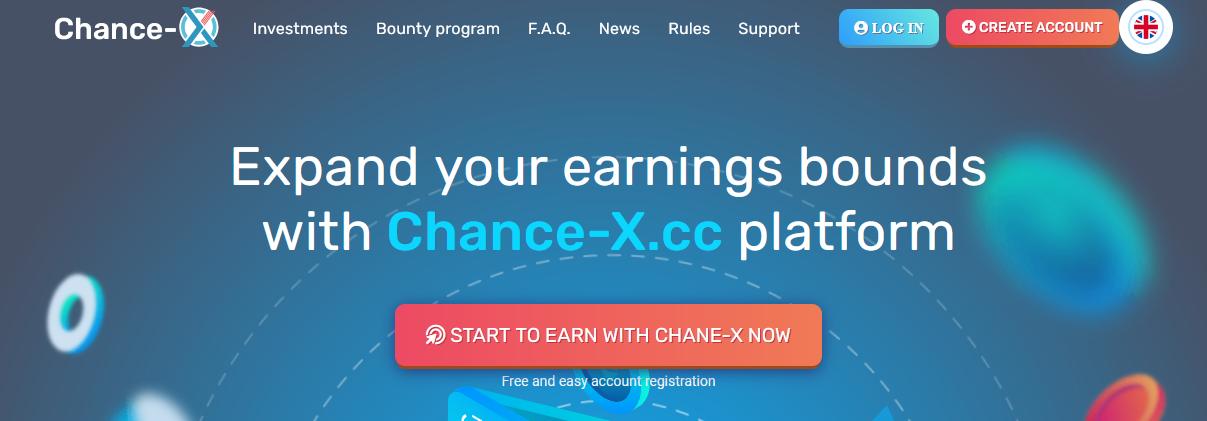 Мошеннический сайт chance-x.com – Отзывы, развод, платит или лохотрон? Информация