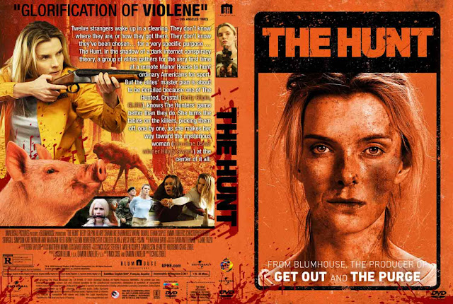 The Hunt (2020) DVD Cover