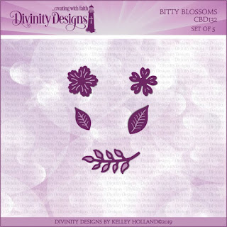 Divinity Designs Custom Bitty Blossoms Dies