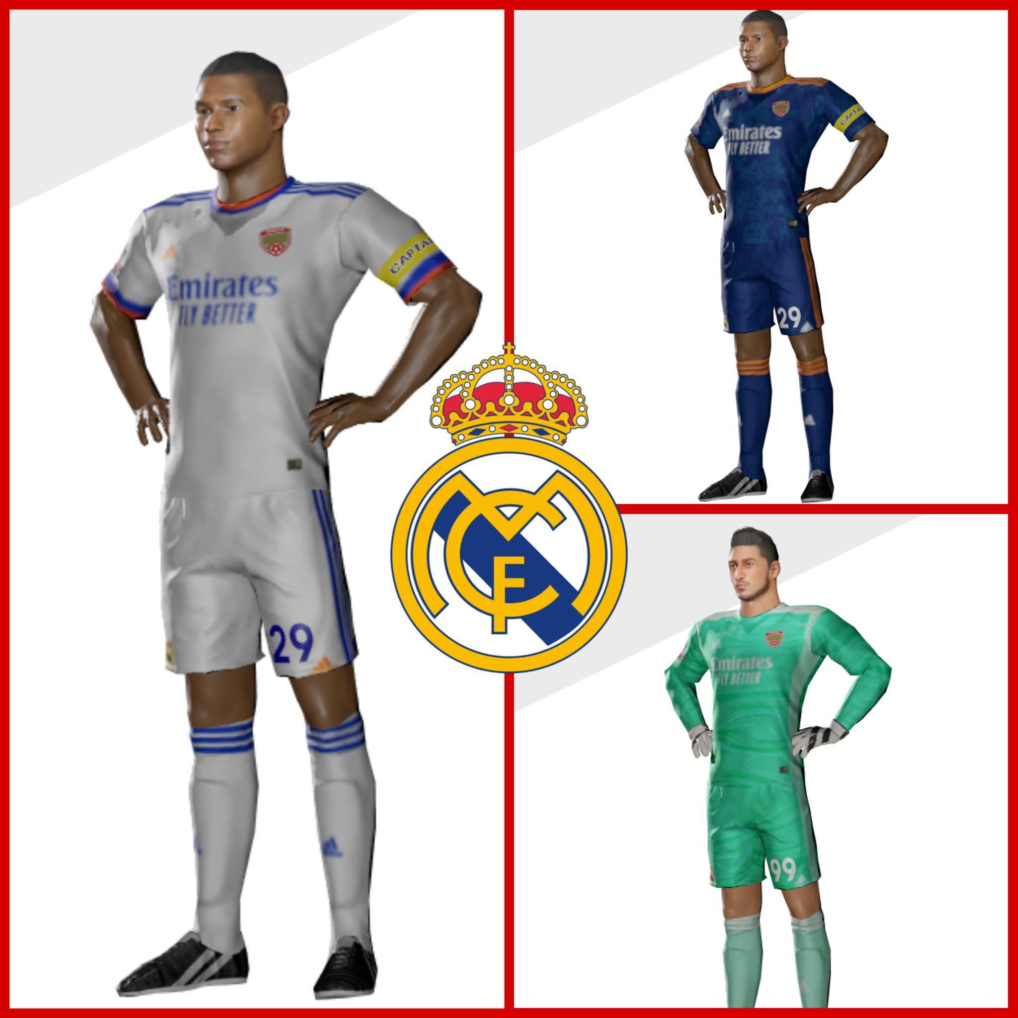 Kits Real Madrid Dream League Soccer 2022