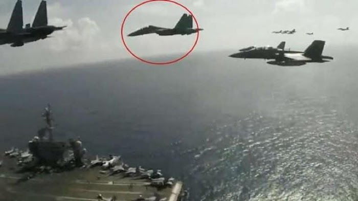 Militer Malaysia Nekat Pakai Sukhoi Ikut AS Terbang di Muka Indonesia