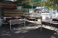 Kyrgyzstan, Jalalabad, Maruf Cafe, topchan, © L. Gigout, 2012