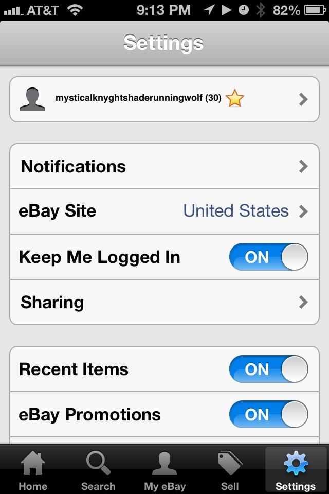 iPhone Tutorial and More : Ebay App Screenshots
