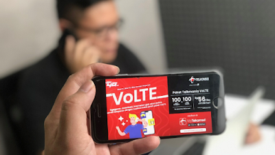 Telkomsel Hadirkan VoLTE