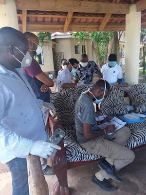 Kilifi MCAs being tested for Coronavirus