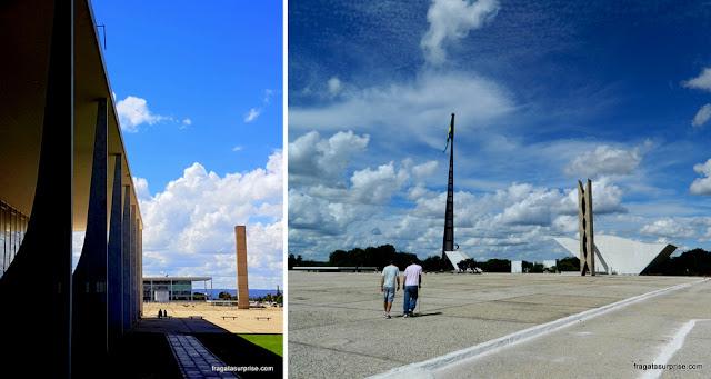 STF, Palácio do Planalto e Praça dos Três Poderes, Brasília