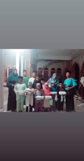 Pengurus Forum Remaja Masjid Dusun Rajan, Desa Pengembur Gelar Santunan Anak Yatim Dan Buka Bersama