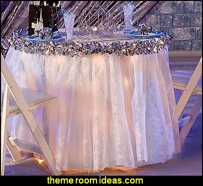 Wedding decorations Gossamer fabric