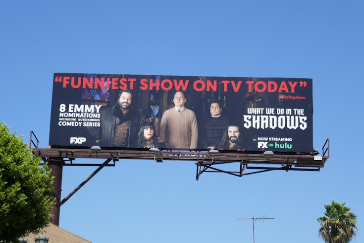 What We Do in Shadows Emmy nominee billboard