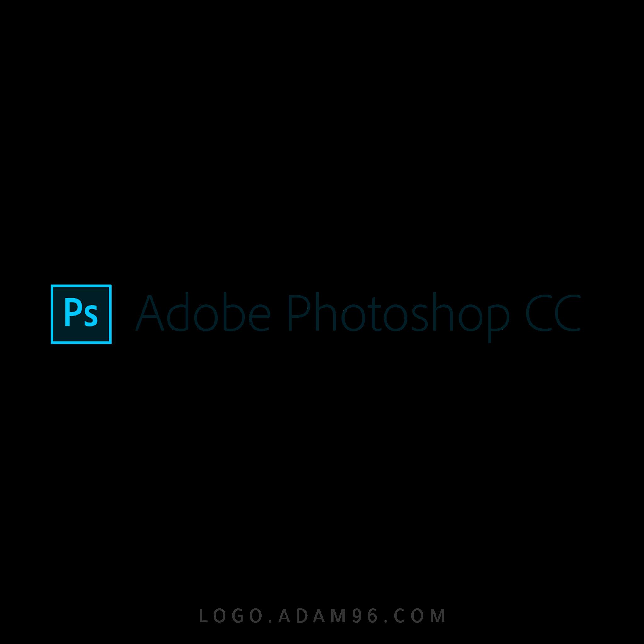 تحميل شعار برنامج ادوبي فوتوشوب لوجو شفاف Logo Photoshop CC PNG