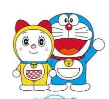 gambar kartun Doraemon dan Dorami