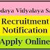 Navodaya Vidyalaya Samiti Recruitment Notification