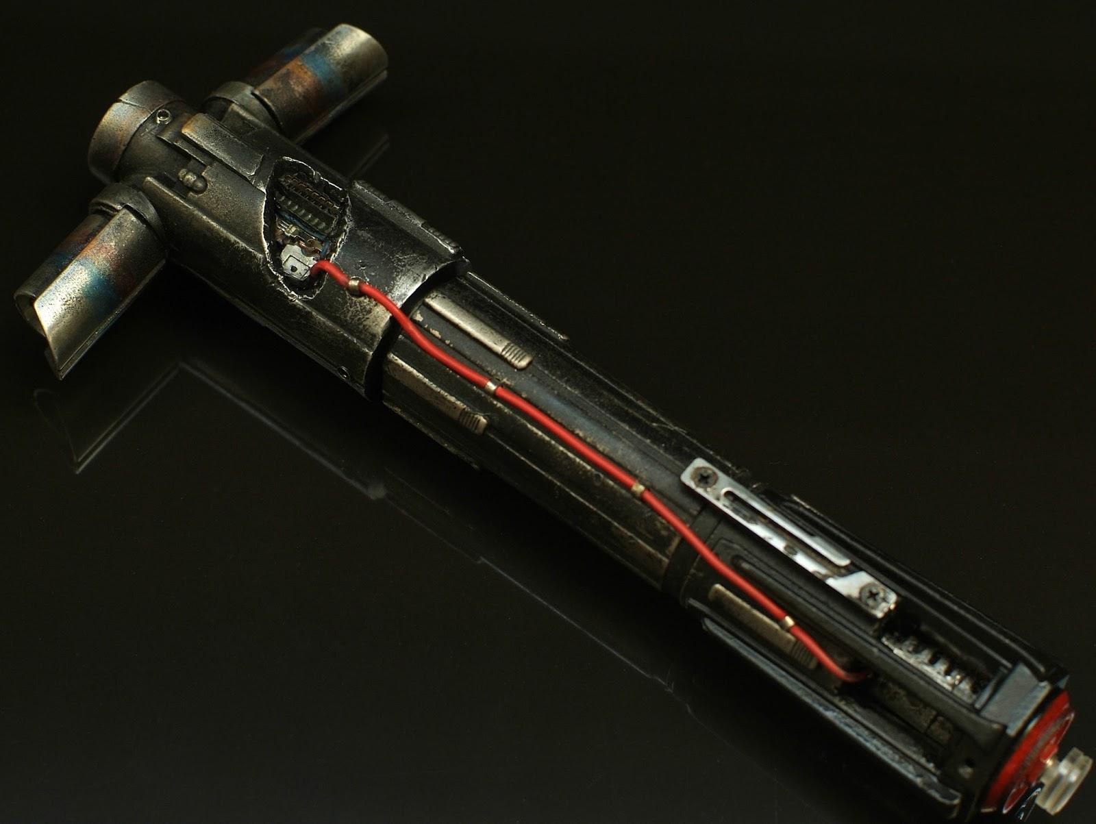 RO-LIGHTSABERS: The Jedi Killer Kylo Ren Lightsaber