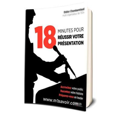 18 minutes pour réussir votre présentation PDF gratuit