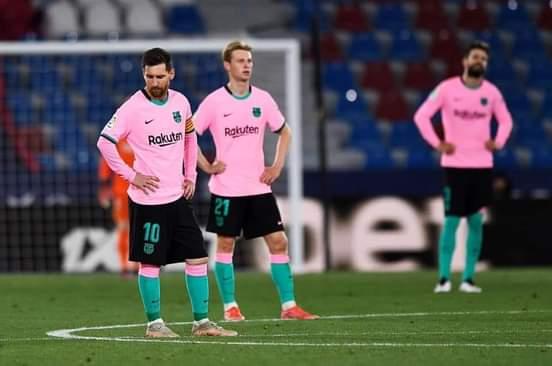 برشلونة، ليفانتي، الدوري الإسباني .