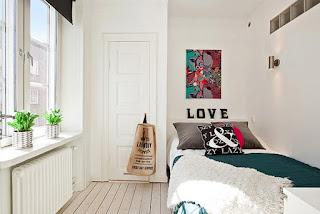 Dekorasi minimalis untuk kamar tidur baiknya warna putih