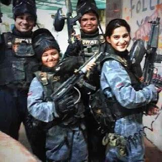 Priya Bapat With Army