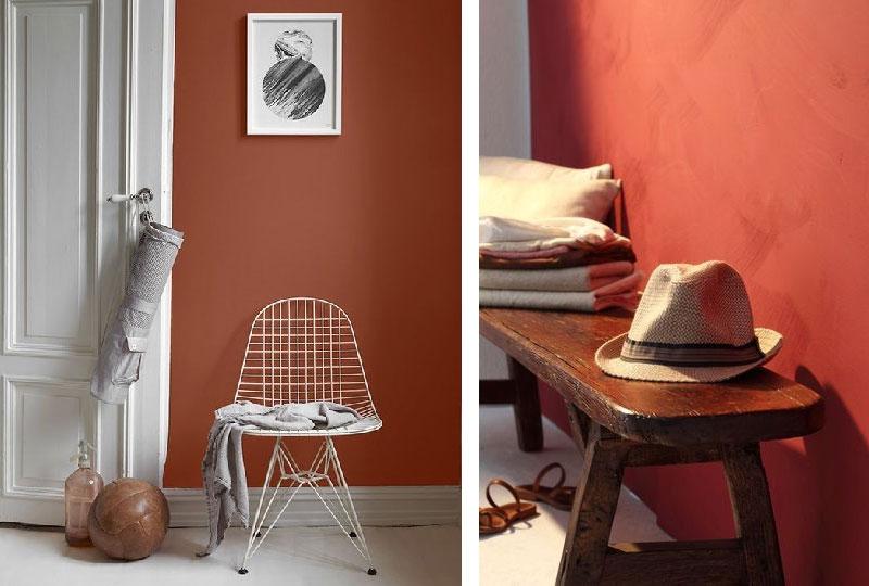 Pareti Colore Arancione : Imbiancare casa. irresistibili i colori dellautunno dettagli home