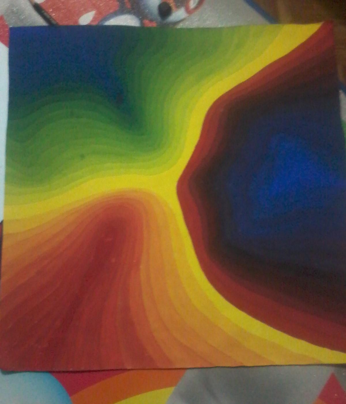 89+ Gambar 2 Dimensi Warna Terlihat Keren