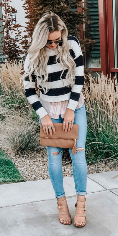 23 Stylish Fall Fashion Ideas for Women Over 30. We've taken the liberty of compiling a list of fall outfit ideas for women over 30. Fall Style via higiggle.com | sweater | #fashion #falloutfits #style #sweater