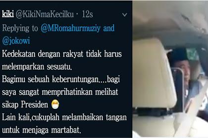 Cara Presiden Jokowi Beri Sesuatu Ke Masyarakat Ini Dikritik Emak-emak