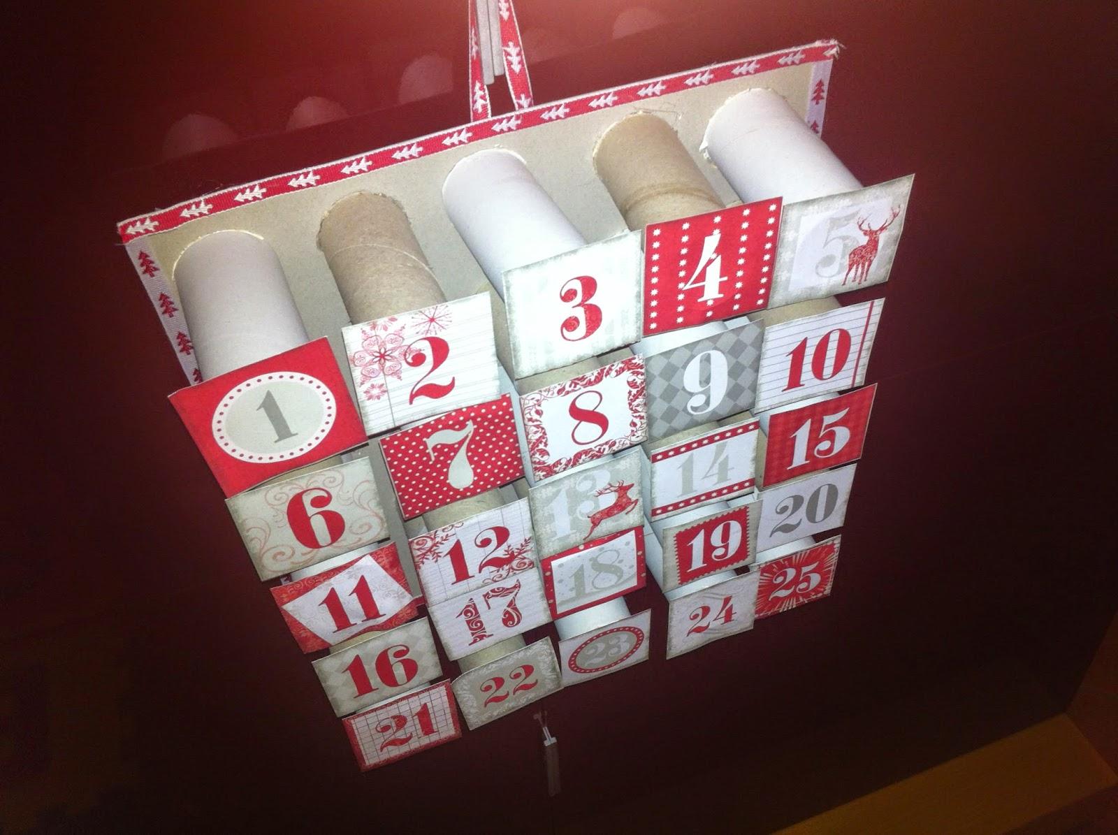 Calendario Avvento Con Rotoli Carta Igienica.Gocce Di Agata Calendario Dell Avvento