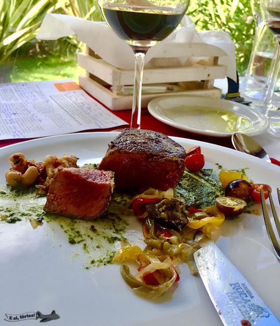 Ruca Malen, Bodeca, Mendoza, Argentina, Vinho, Bife de Chorizo