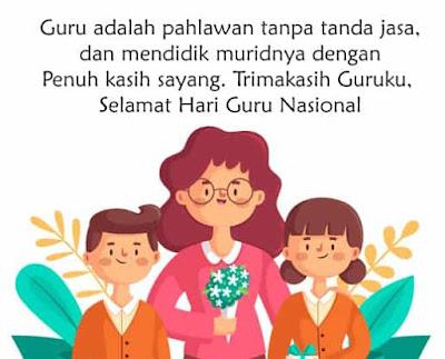 caption selamat hari guru nasional