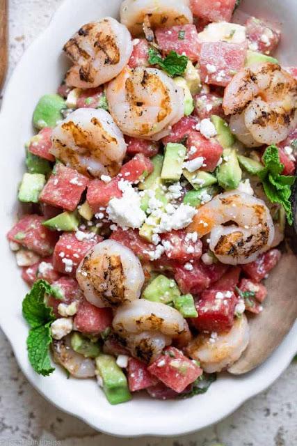 Shrimp skewers marinade