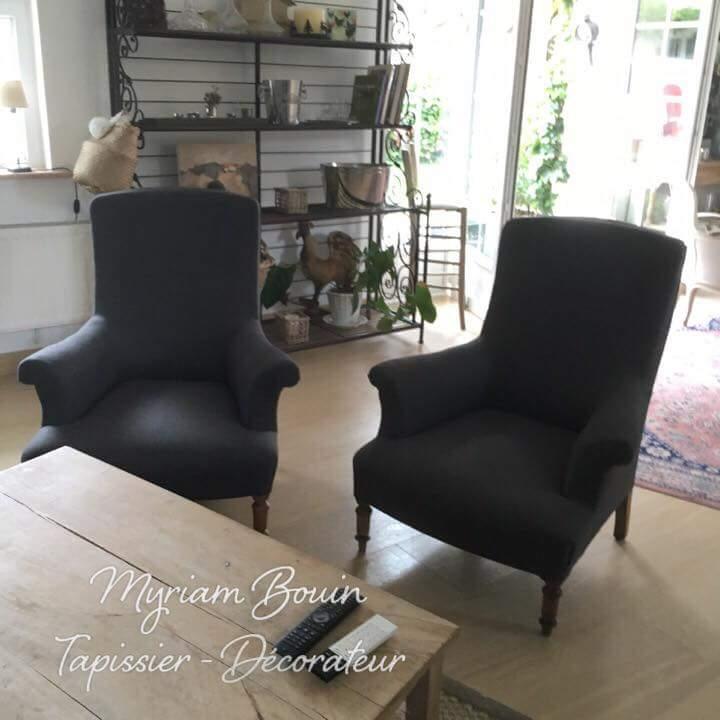 myriam bouin tapissier d corateur fauteuil anglais. Black Bedroom Furniture Sets. Home Design Ideas