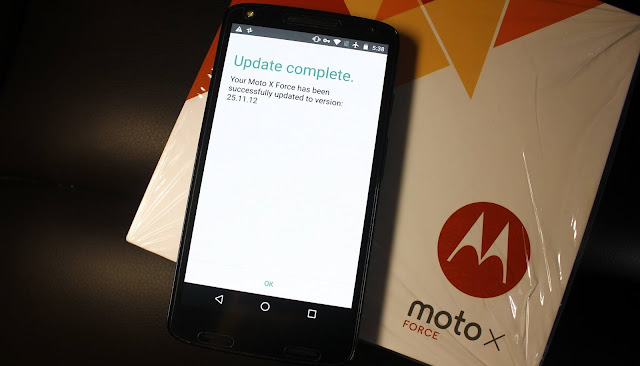 Motorola Moto X Force XT1580 Android Nougat 7.0 update starts rolling out
