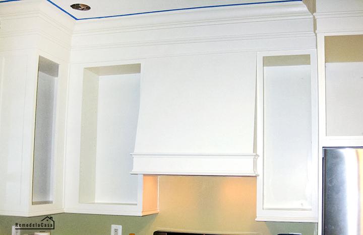 gabinetes de cocina pintados blanco