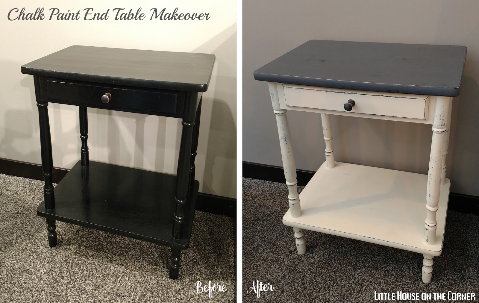 So The Subject Of This Latest Transformation Is A Little End Table Weu0027ve  Had Forever (Iu0027m Pretty Sure It Was A Hand Me Down From My Sister).