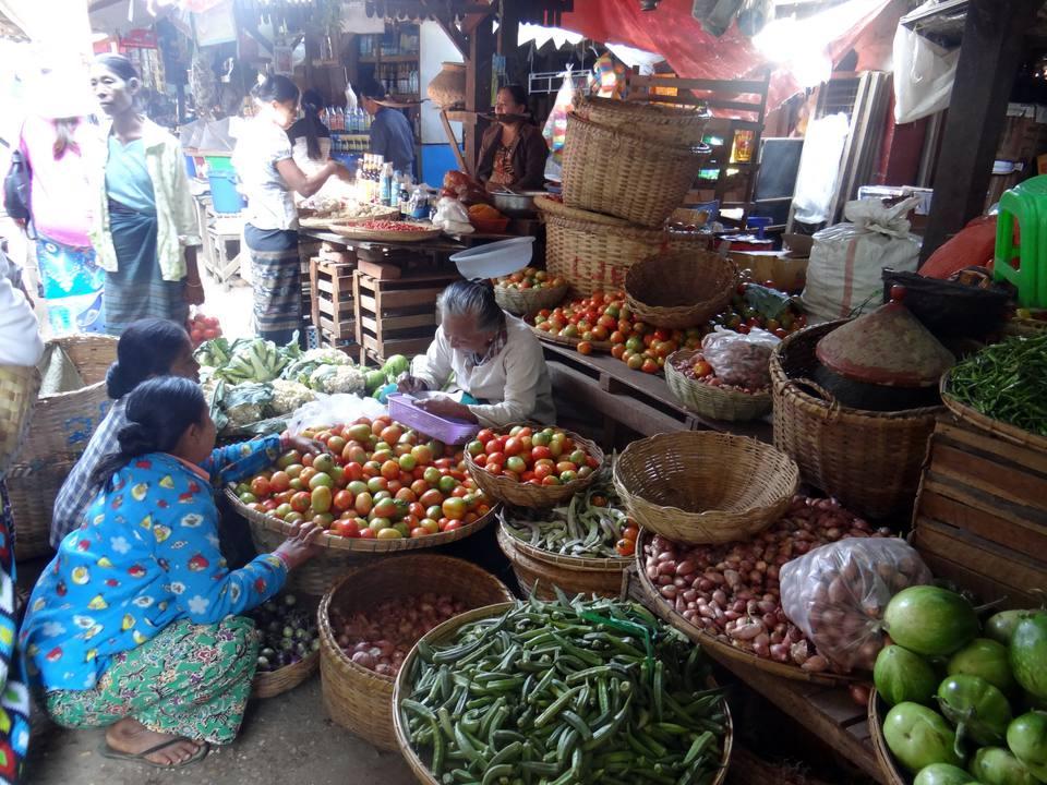 Люди в Баган, Мьянма