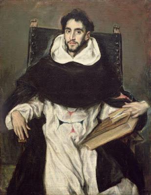Portrait du frère Hortensio Félix Paravicino (Gréco)