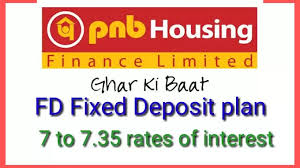 PNB Housing finance RD plan with 7 to 7.35 % rate of intrest.2020.