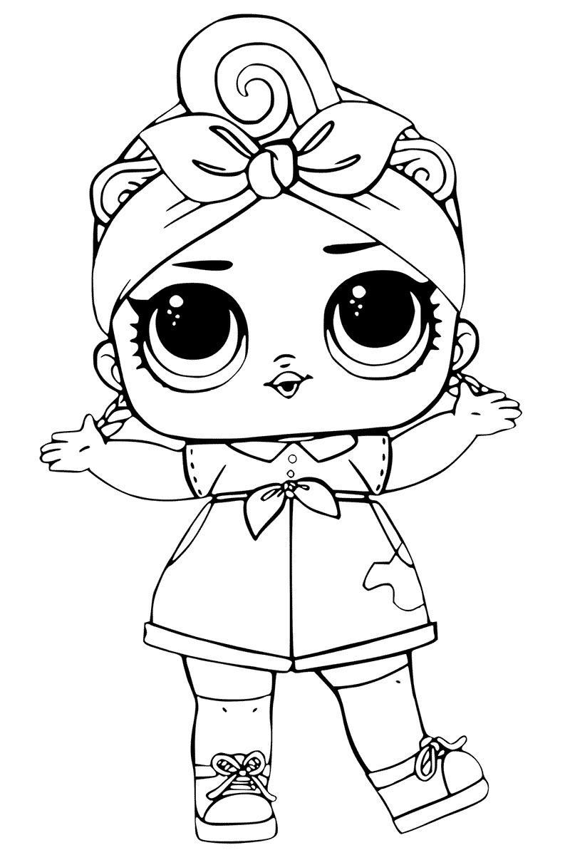 Drawing Lines With Qt : Desenhos para colorir boneca lol como fazer