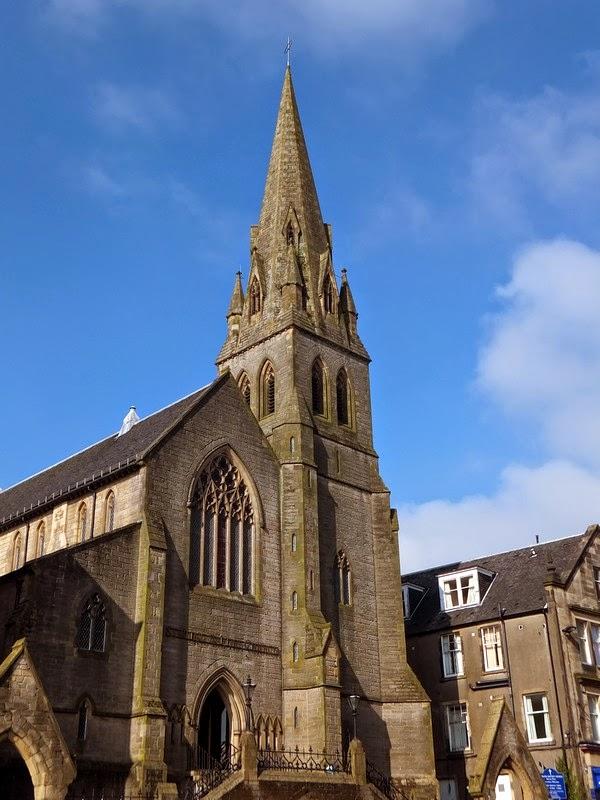 Stirling écosse scotland église church