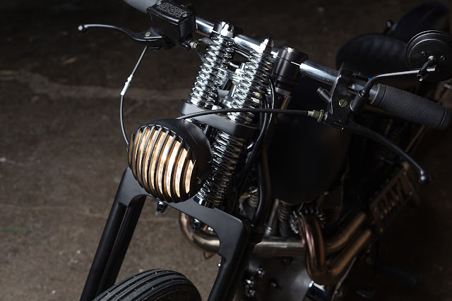 Triumph Bonneville 1970 By Origin8or Custom Motorcycles Hell Kustom