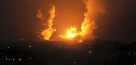 TERRORISMO ISRAELÍ: Aviones de guerra israelíes atacaron tierras agrícolas en Gaza