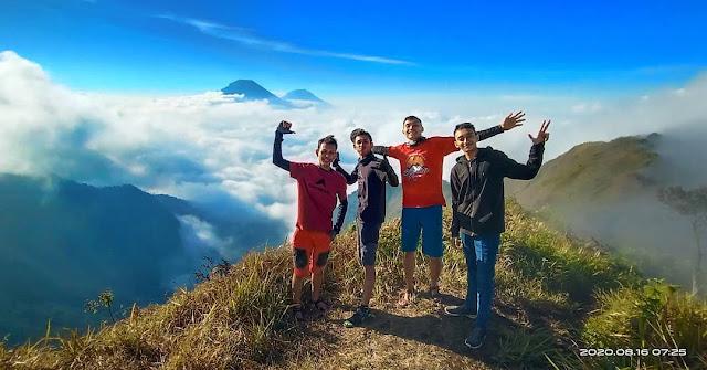Pendakian Gunung Bismo Via Sikunang, Jalur Termudah Untuk Pemula