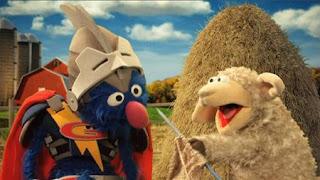 Super Grover 2.0 Farm, super grover helps a sheep. Sesame Street Episode 4323 Max the Magician season 43