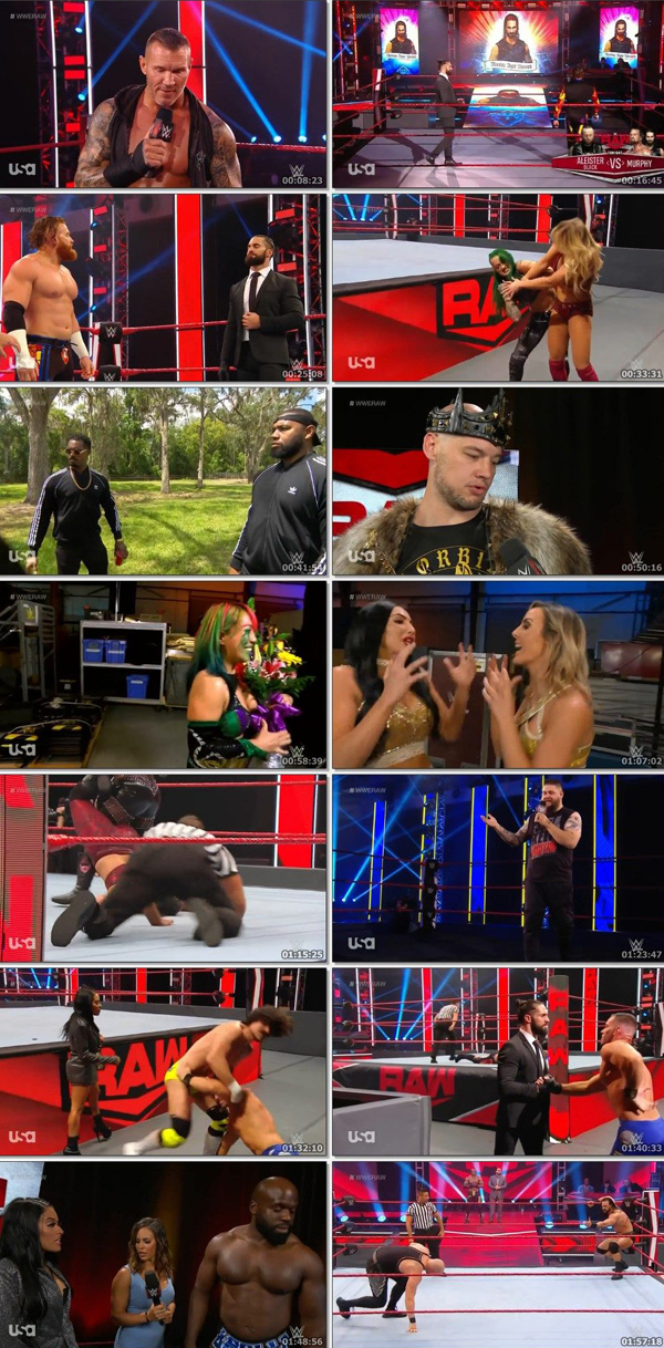 Download WWE Monday Night RAW Live 18 May 2020 ORG English 400MB movie