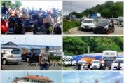 H-2 Jelang Lebaran,Kendaraan Pemudik Selayar Masih Bertumpuk di Pelabuhan Bira.