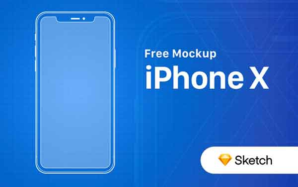 FREE-iPhone-X-Outline-Mockup