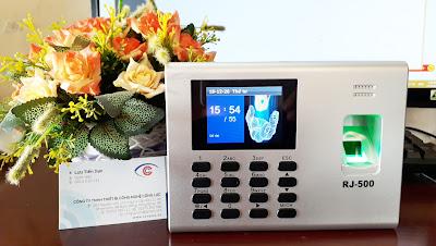 phân phối máy chấm công vân tay Ronald Jack RJ500 giá rẻ